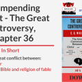 Illustration-Title-The Impending Conflict - The Great Controversy-text-logo