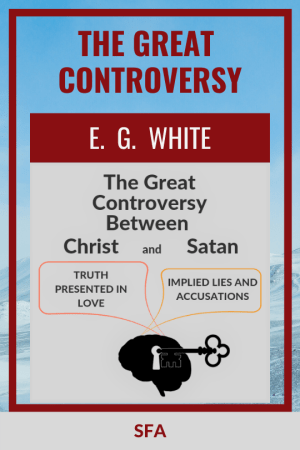 Illustration - Ebook cover - The Great Controversy - text