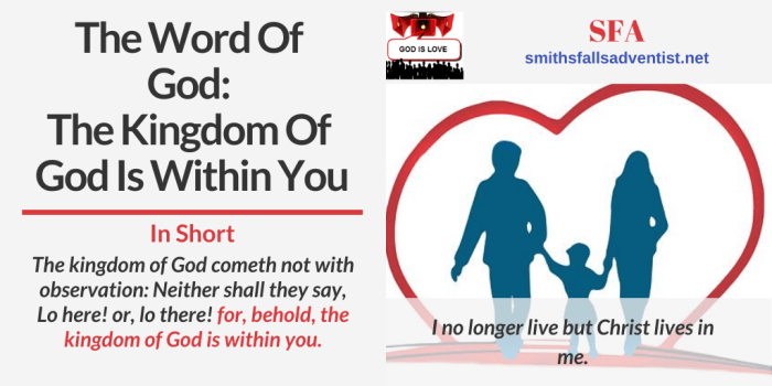 Illustration-The Word Of God-The Kingdom Of God Is Within You-family-text-Bible verse