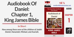 Illustration-Title-Audiobook Of Daniel - Chapter 1, King James Bible-library-Bible text