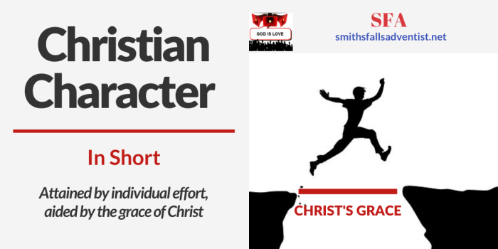 Illustration-background-hole in the ground-jumping person-Title - Christian Character-text