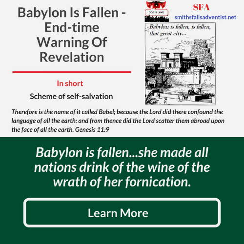 Illustration-background-old city- title-Babylon is fallen-text-Bible verse