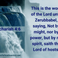 Illustration-landscape-mountain water fall-titBy my spirit in Zechariah 4 verse 6-text-Bible versele-