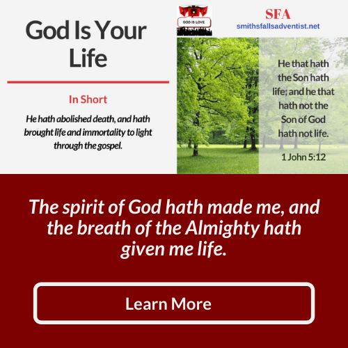 Illustration-background-title-God is your life-Bible text