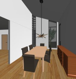 2016014_Benjey Residence - 3D View - DINING ROOM