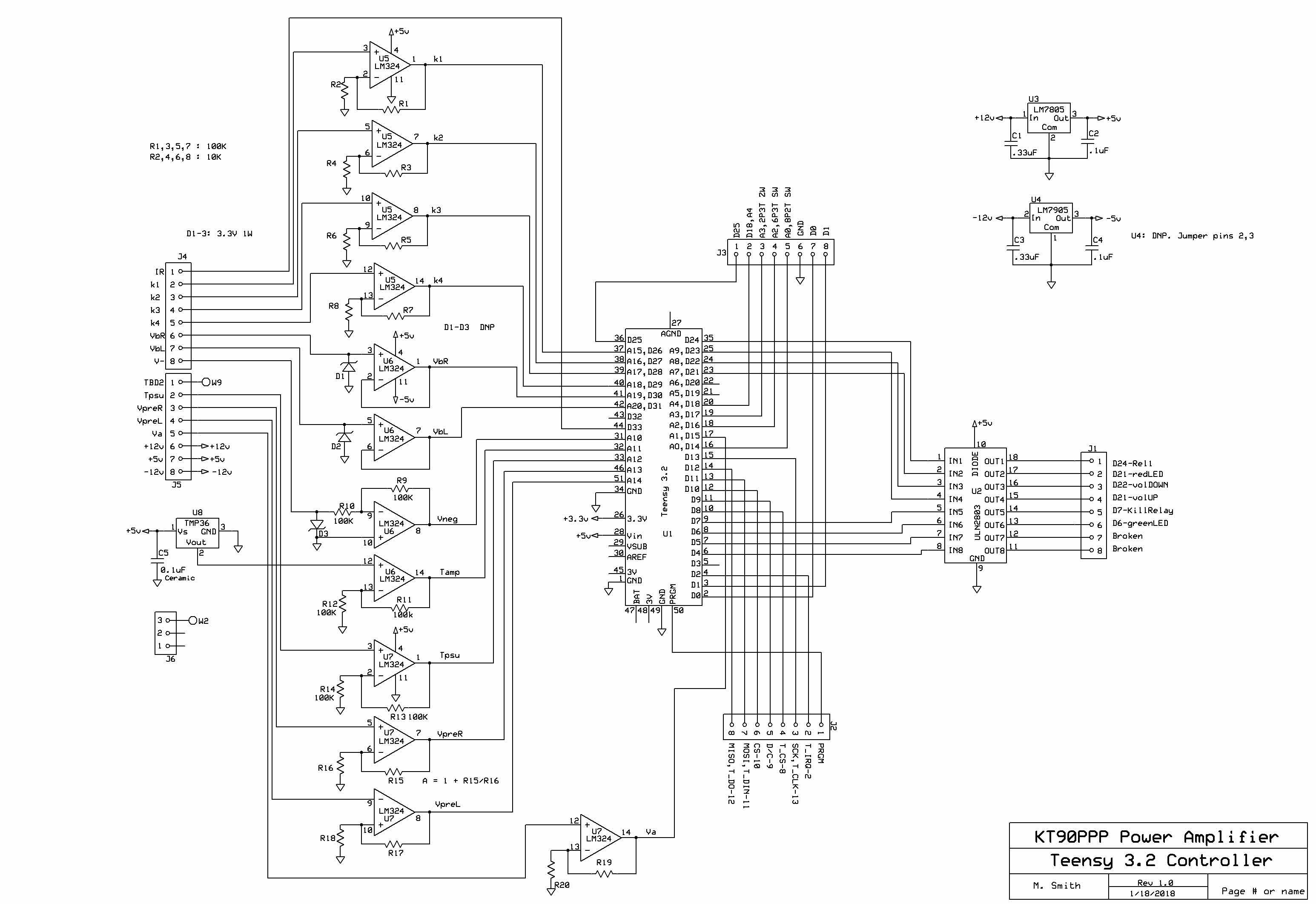 Kt90 Push Pull Amplifier