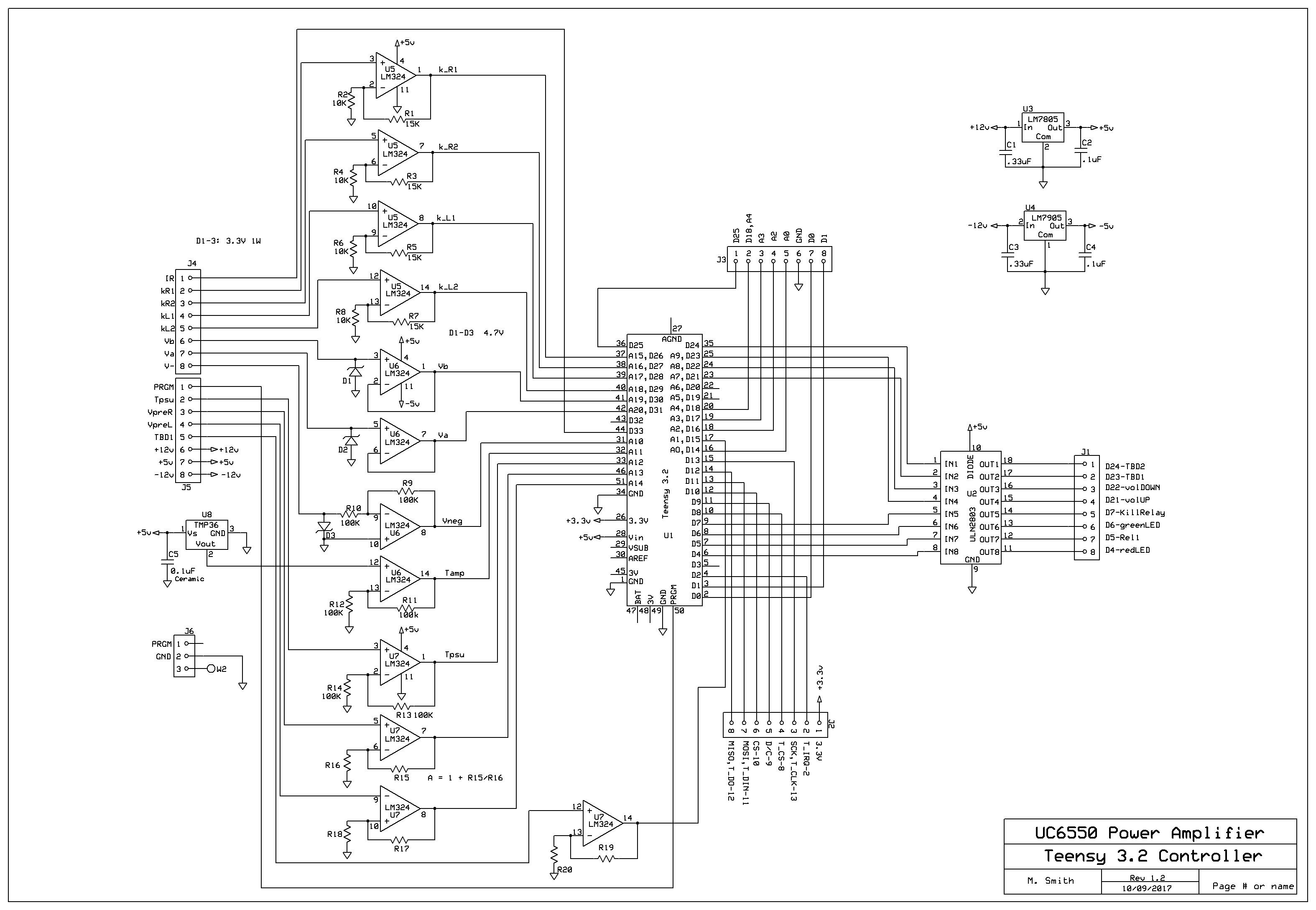 Ben S Push Pull Ultralinear Triode Amplifier