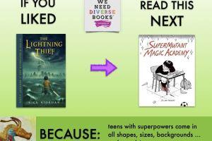 Discover WeNeedDiverseBooks with Jillian Tamaki's SuperMutant Magic Academy