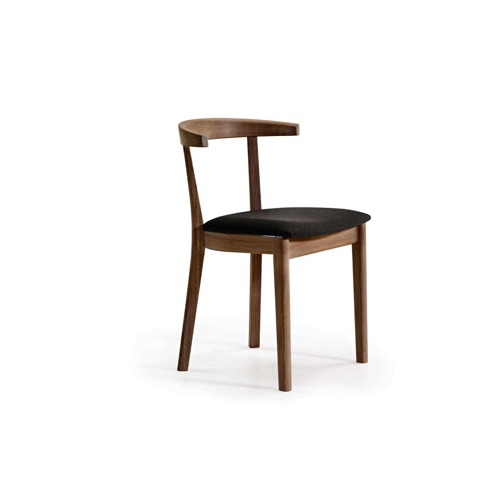 Curved Back Chair Skovby Sm52 Dining Chair Retro Curved Back Design