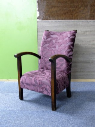 Small bedroom chair the upholstery cost £100 - for sale £145