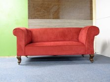 Victorian drop arm sofa the upholstery cost £250 ---- SOLD