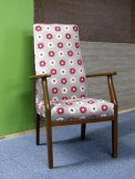 Vintage Parker Knoll arm chair the upholstery cost £120 - for sale £165