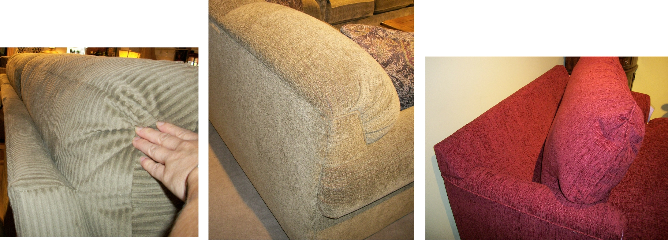 sofa cushion foam types high back cream leather sofas smith village home furnishings page 2 of 3 york pa