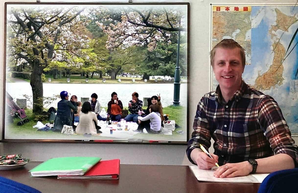 スミス英会話桂校でピクニック
