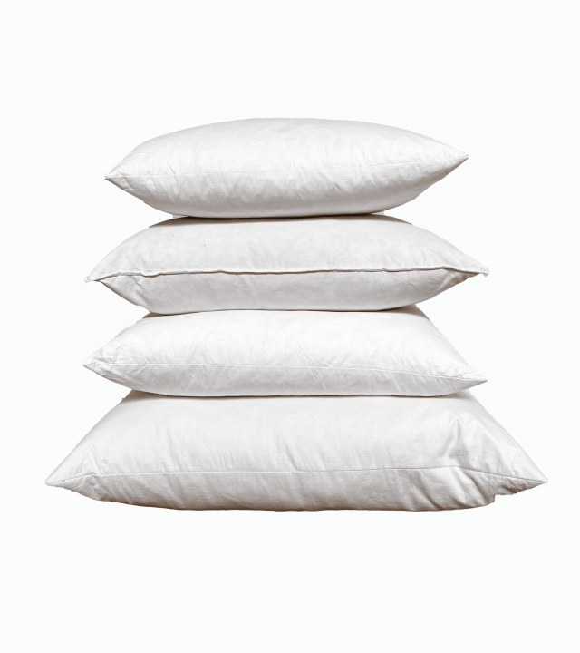 throw pillow inserts quality