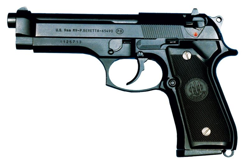 My pistol.