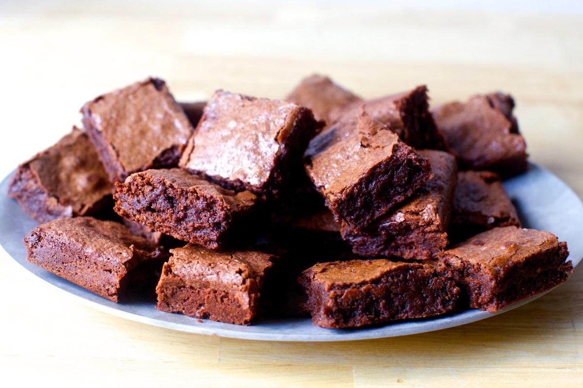 Surprising My Favorite Brownies Smitten Kitchen Personalised Birthday Cards Arneslily Jamesorg