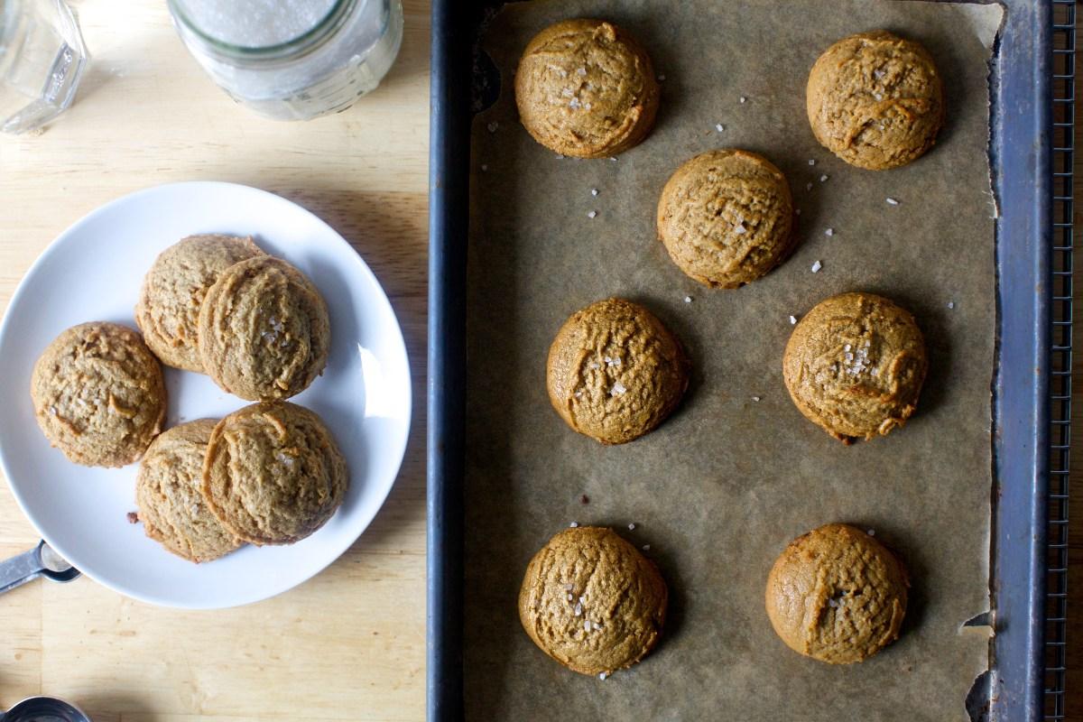 Salted Peanut Butter Cookies Smitten Kitchen