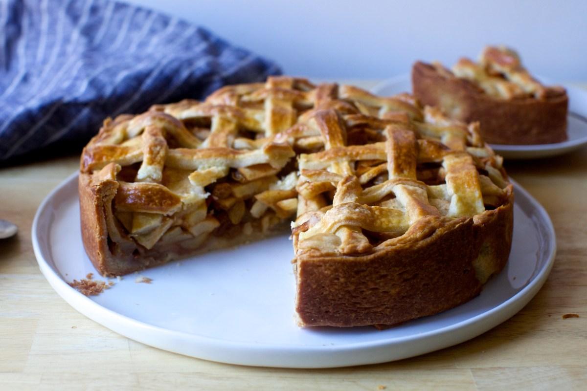 Dutch Apple Pie / Hollandse Appeltaart