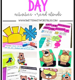 Groundhog Day activities and read alouds for Kindergarten [ 2399 x 1599 Pixel ]