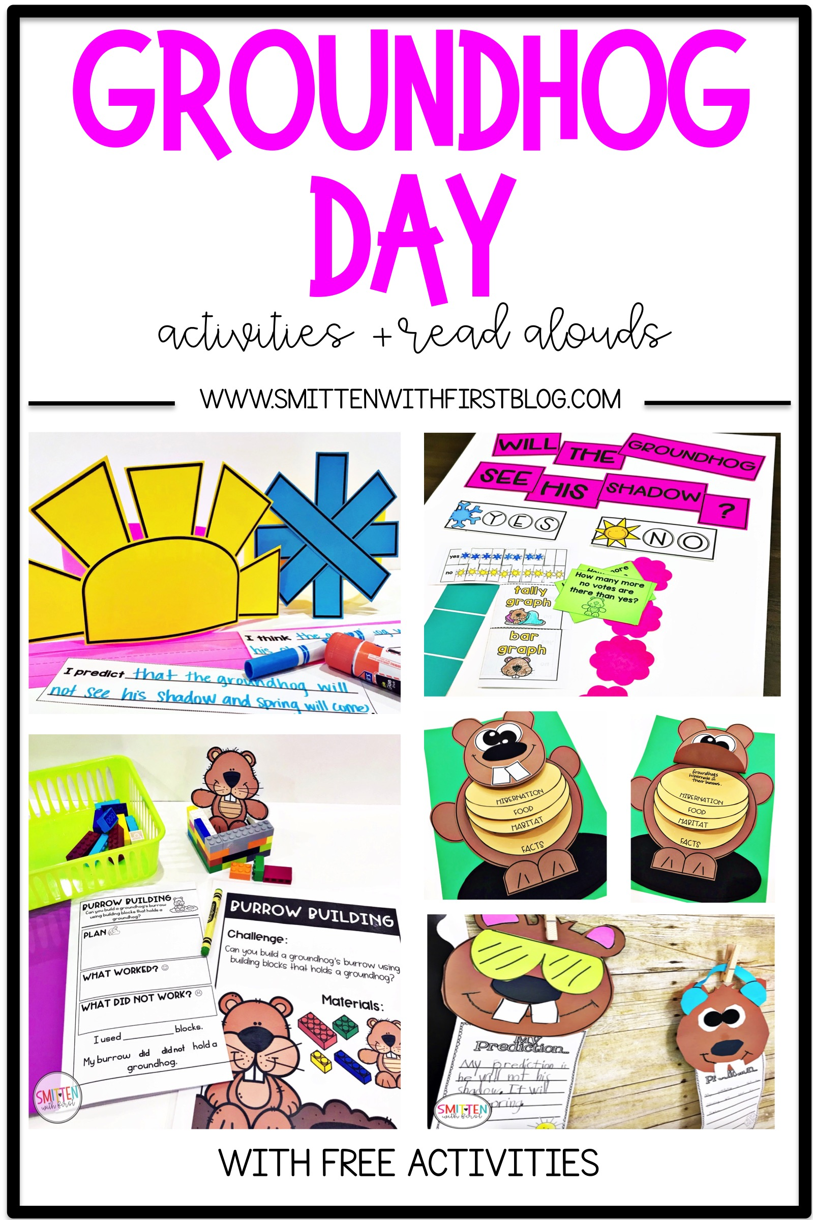 hight resolution of Groundhog Day activities and read alouds for Kindergarten