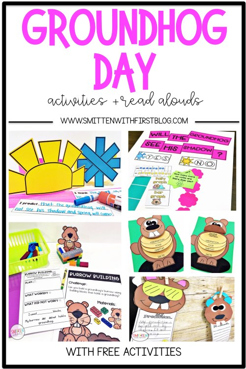 small resolution of Groundhog Day activities and read alouds for Kindergarten