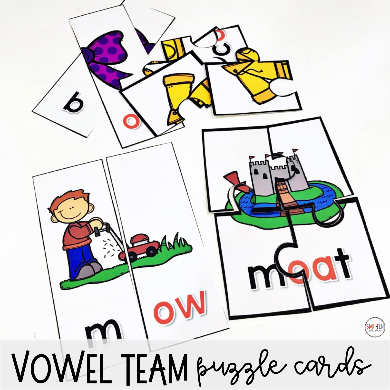Vowel Teams Oa And Ow Worksheet
