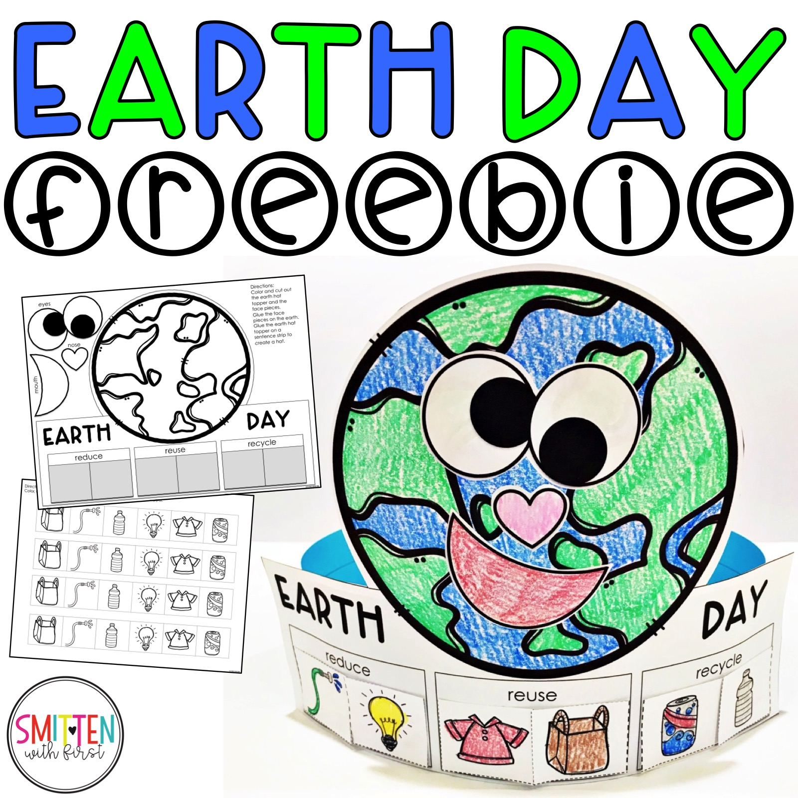 Earth Day Activities For Kids Kindergarten First Grade