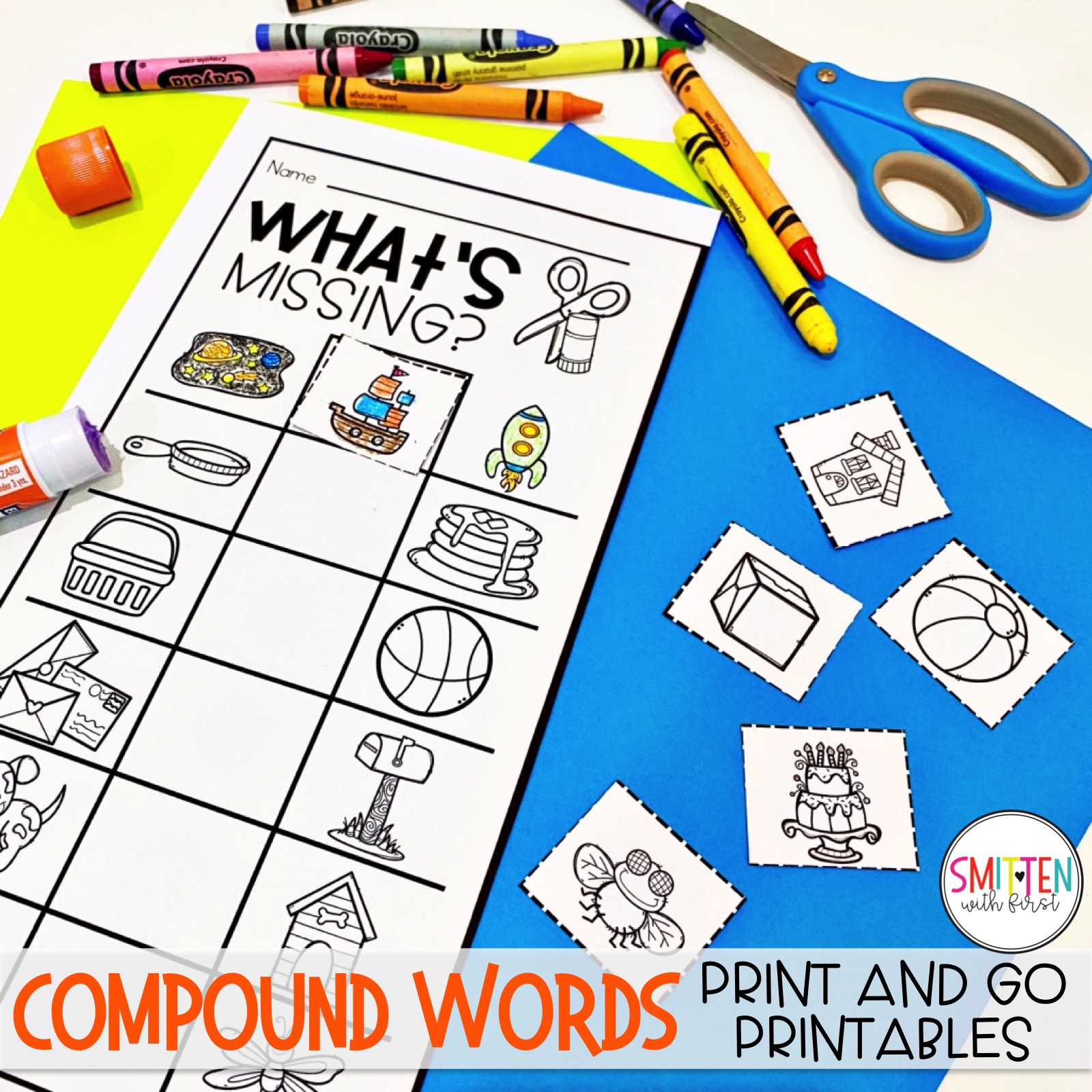 Compound Words Worksheets Activities Craftivities Games