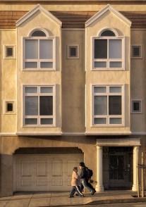 Irving Street in the Inner Sunset neighborhood of San Francisco