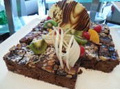 Brownies from the Mercure