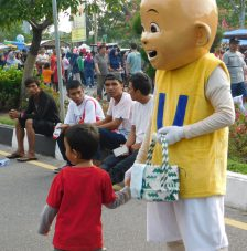 An Indonesian character