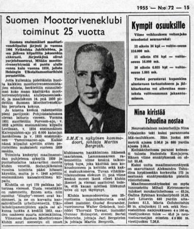 HS 1955 SMK 25 vuotta (SMK)