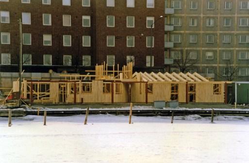 Pohjoisranta talo valmistuu kevättalvi 1987 (ÅM)