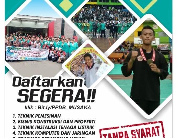 Pendaftaran peserta Didik baru SMK Muh 1 Klaten Utara tahun 2020