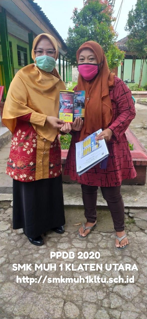 PPDB 2020 SMK Muhammadiyah 1 Klaten Utara