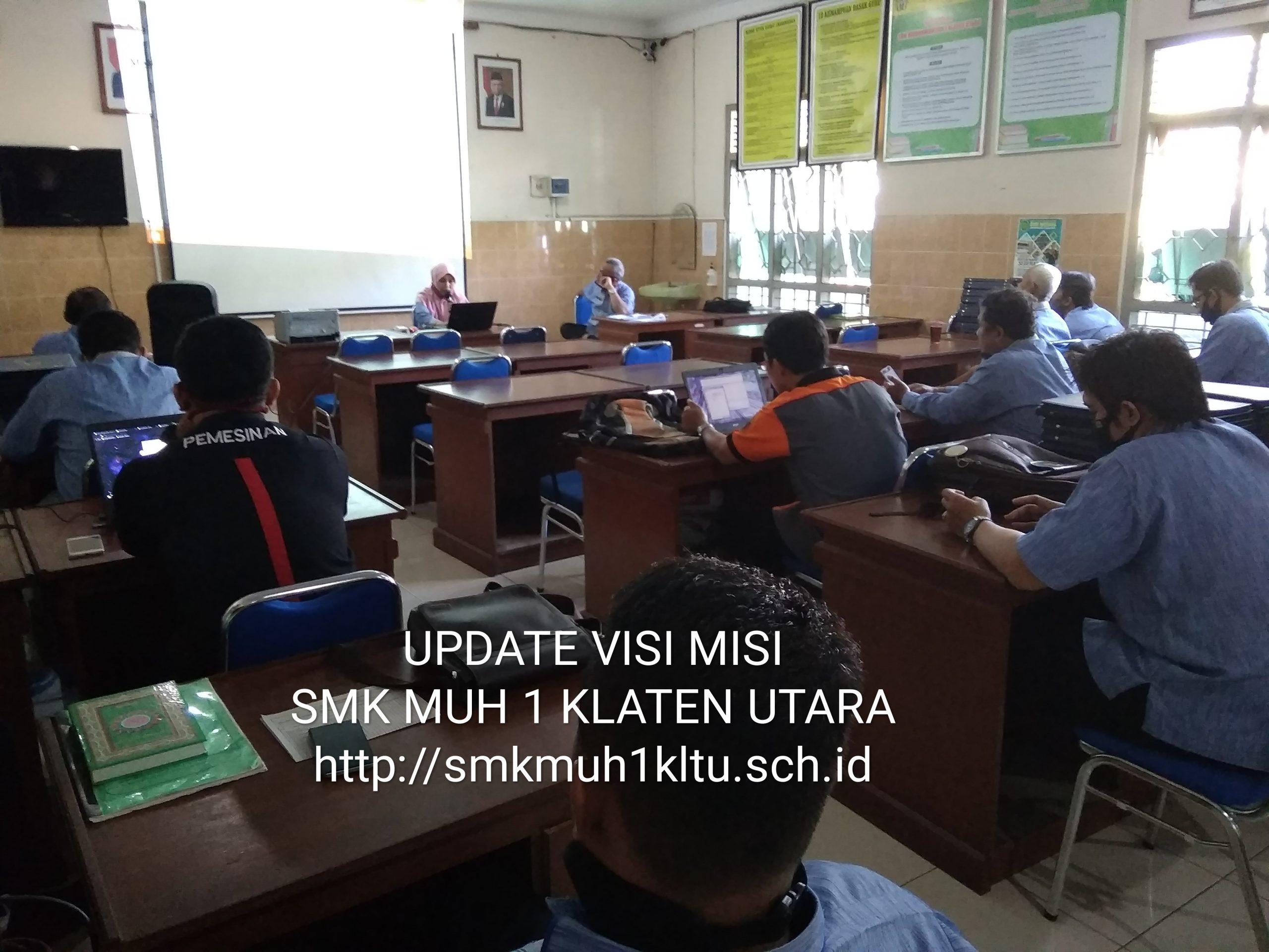 Visi, Misi dan Sasaran Mutu SMK Muhammadiyah 1 Klaten Utara