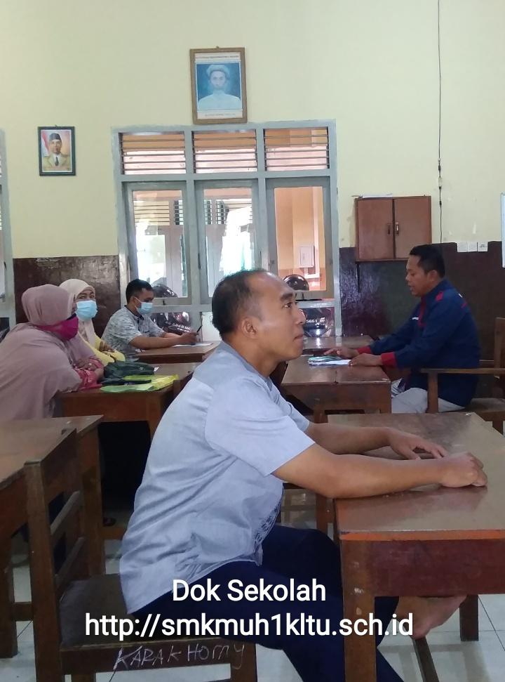 Koordinasi Panitia Penitipan calon siswa baru