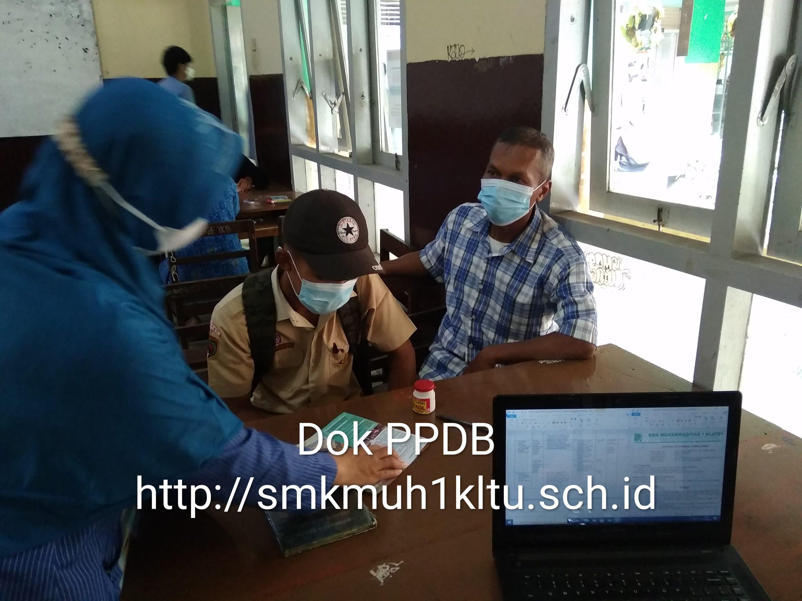 Daftar ulang PPDB SMK Musaka secara online