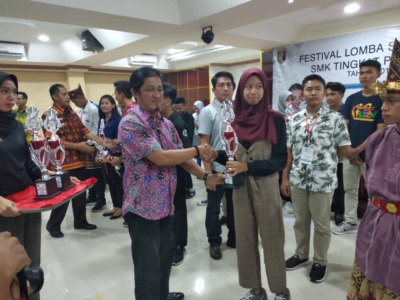 Juara 1 Lomba Teater Festival Lomba Seni (FLS) Tingkat Provinsi Lampung Tahun 2019