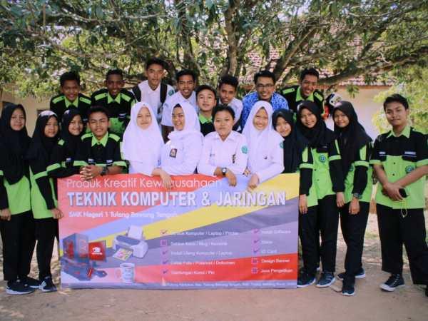 Tim PKWU TKJ SMKN 1 Tulang Bawang Tengah Menyediakan Jasa Cetak Bukti Pengumuman PPDB T.P 2019 / 2020