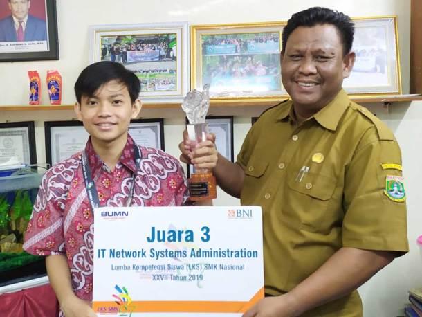 Rangga Juara 3 Nasional ITNSA 2019