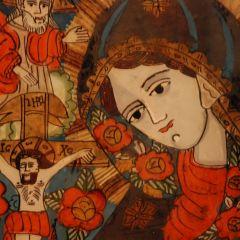 Expoziţie de icoane pe sticlă dedicată sărbătorilor pascale