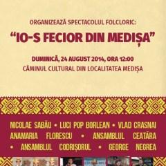 """Duminica are loc a treia editie """"Io-s fecior din Medișa"""""""