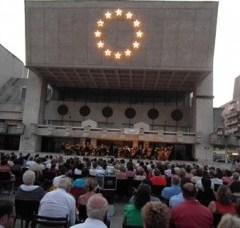 Concert simfonic in aer liber la Satu Mare