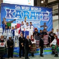 Sportivul Răzvan Tinca, karateka de la CSM Satu Mare, campion mondial la competiția din Polonia