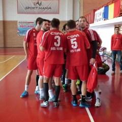 "Handbal: Academia de Handbal ""Minaur"" Baia Mare-CSM Satu Mare 27-38"
