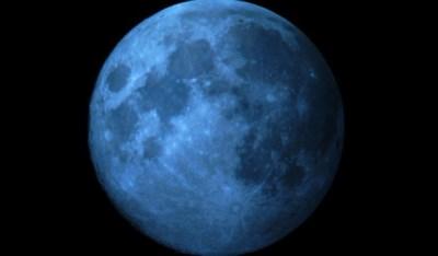 LUNA ALBASTRA , Fenomen astronomic inedit, vizibil astazi pe cer