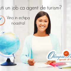 Olimpia Travel angajeaza agent de turism
