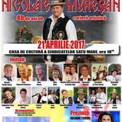 """Concert aniversar """"Nicolae Muresan"""" azi, la Casa de Cultura"""